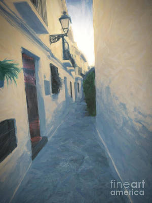 Photograph - Blue Granada by Ivan Gomez