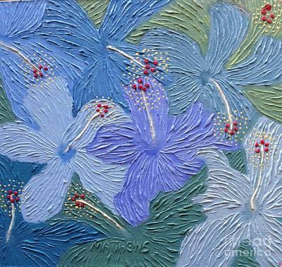 Painti Painting - Blue Green by Gordon Matthews