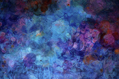 Blue Grotto Painting  Art Print