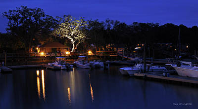 Photograph - Blue Harbor by Kay Lovingood