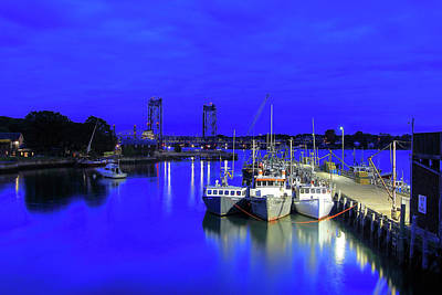 Photograph - Blue Harbor-portsmouth by Brian Pflanz