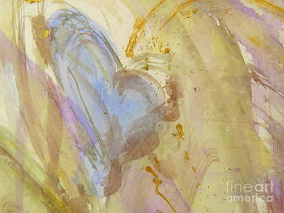 Painting - Blue Hart by France Laliberte