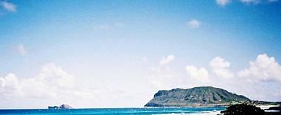 Art Print featuring the photograph Blue Hawaii by Judyann Matthews