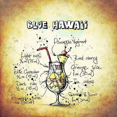 Blue Hawaii Print by Movie Poster Prints