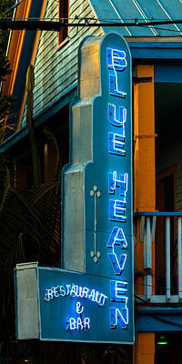 Photograph - Blue Heaven by Ed Gleichman