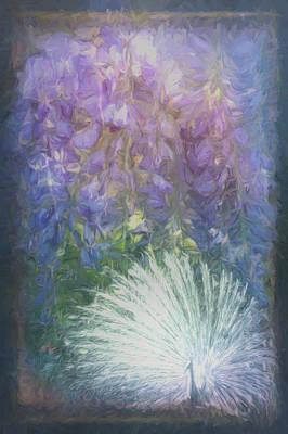 Photograph - Blue Heaven In Watercolors by Debra and Dave Vanderlaan