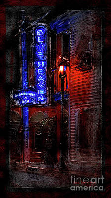 Photograph - Blue Heaven Rendezvous Key West Florida Bar by John Stephens