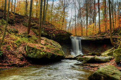 Photograph - Blue Hen Falls 3 by Ann Bridges