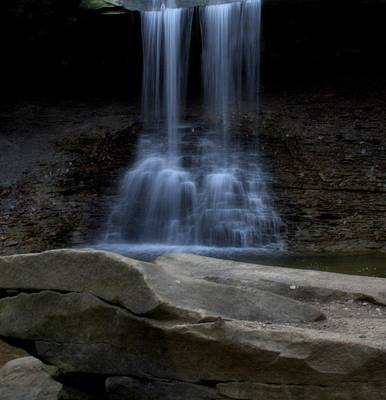 Akron Falls Photograph - Blue Hen Falls by Dan Sproul