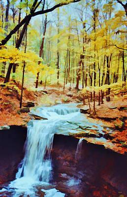 Photograph - Blue Hen Falls by Diane Alexander