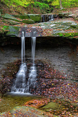Photograph - Blue Hen Falls by Gary Lengyel