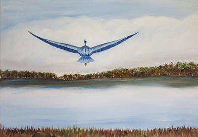 Blue Heron Original