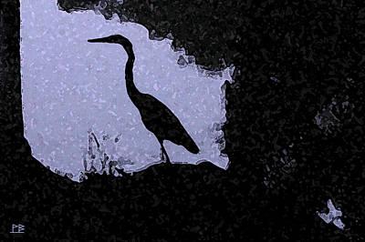 Blue Heron Original by Patricia Bolgosano