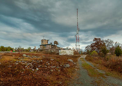 Photograph - Blue Hill Meteorological Observatory by Brian MacLean