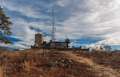 Photograph - Blue Hill Weather Observatory 2 by Brian MacLean