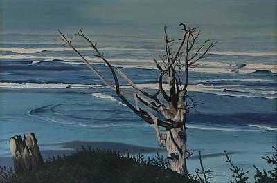 Painting - Blue Horizon by Phil Chadwick