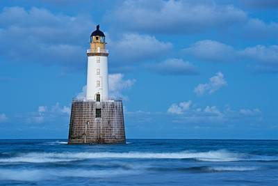 Photograph - Blue Hour At Rattray Head by Stephen Taylor