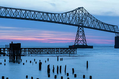 Photograph - Blue Hour At The Bridge by Robert Potts