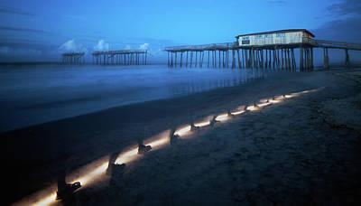 Photograph - Evening Beach Walk by Art Cole