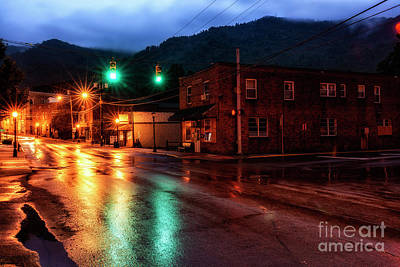 Photograph - Blue Hour In Webster Springs by Thomas R Fletcher