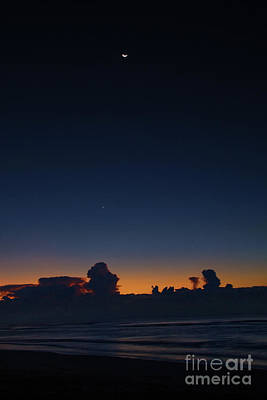 Photograph - Blue Hour Sunrise On Sullivan's Island by Sharon McConnell