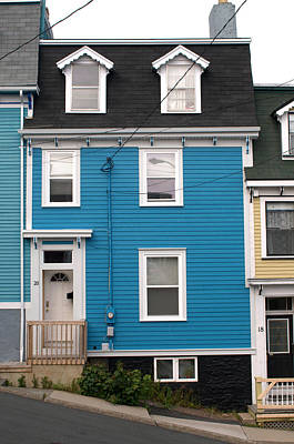 Photograph - Blue House by Douglas Pike