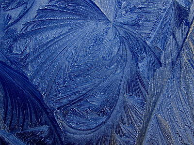 Photograph - Blue Ice #1 by Dreamweaver Gallery
