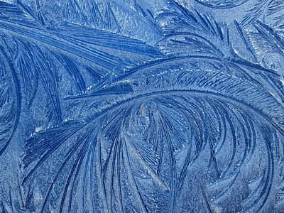 Photograph - Blue Ice #2 by Dreamweaver Gallery
