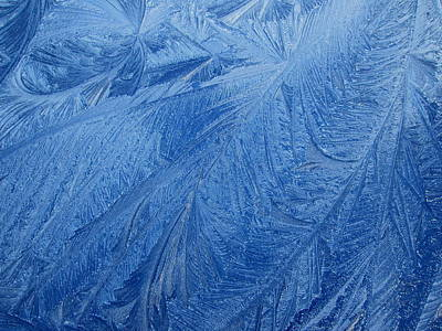 Photograph - Blue Ice #3 by Dreamweaver Gallery