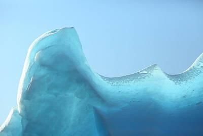 Photograph - Blue Ice by Bruce J Robinson