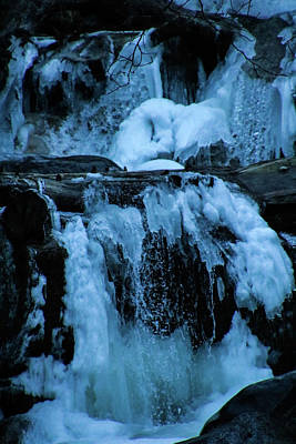 Photograph - Blue Ice by Perggals - Stacey Turner