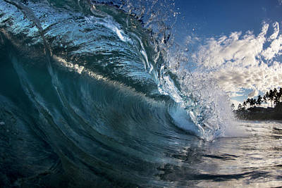 Hollow Photograph - Blue Ice by Sean Davey