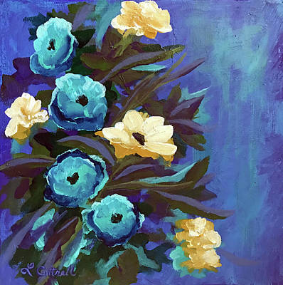 Painting - Blue II by Laura Cottrell