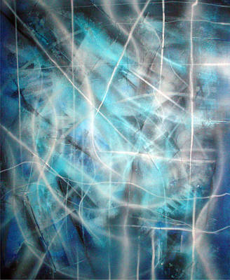 Blue II Art Print by Leigh Odom