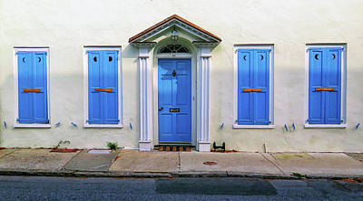 Photograph - Blue In Charleston by Dave Mills