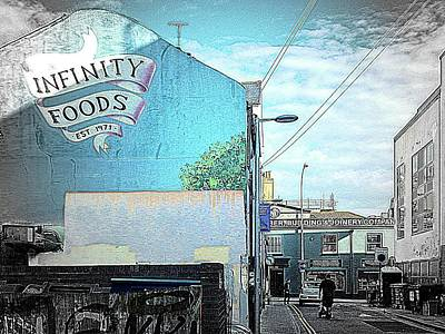 Photograph - Blue Infinity by Dorothy Berry-Lound