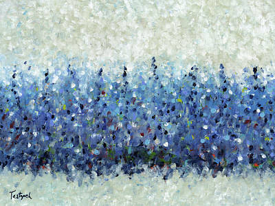 Painting - Blue Intensity by Lynne Taetzsch