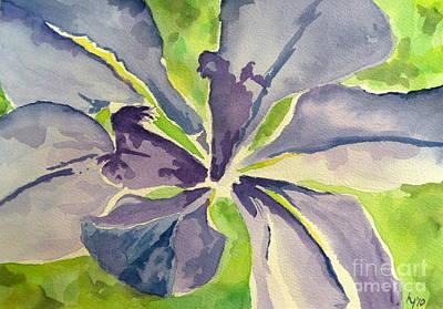 Blue Iris Art Print by Holly York
