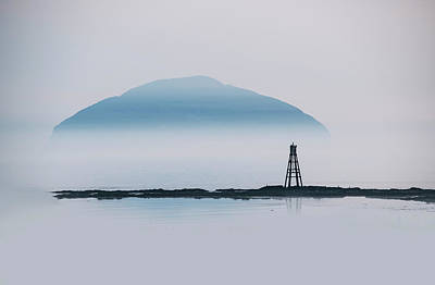 Photograph - Blue Island by Jaroslaw Blaminsky