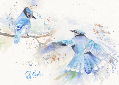 Painting - Blue Jays by Marsha Karle