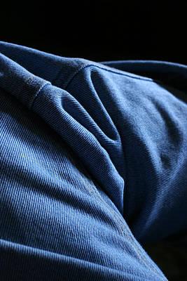 Blue Jeans 0261 Art Print by Steve Augustin