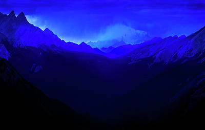 Photograph - Blue by John Poon