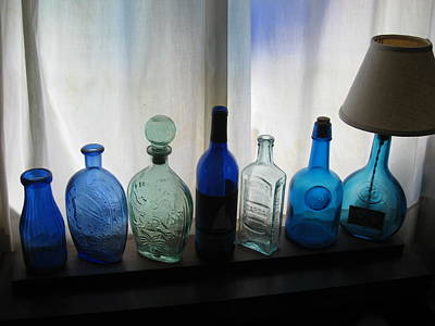 Photograph - Blue by John Scates