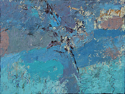 Painting - Blue by Judith Barath
