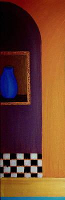 Painting - Blue Jug by Bill OConnor