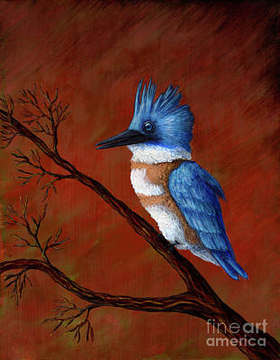 Painting - Blue King by Rebecca Parker