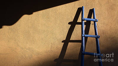 Photograph - Blue Ladder by Patti Schulze