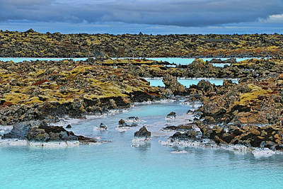 Photograph - Blue Lagoon # 3 by Allen Beatty