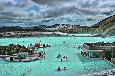 Photograph - Blue Lagoon # 4 by Allen Beatty
