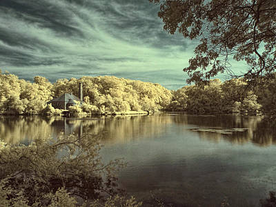 Photograph - Blue Lagoon by Fred Moore
